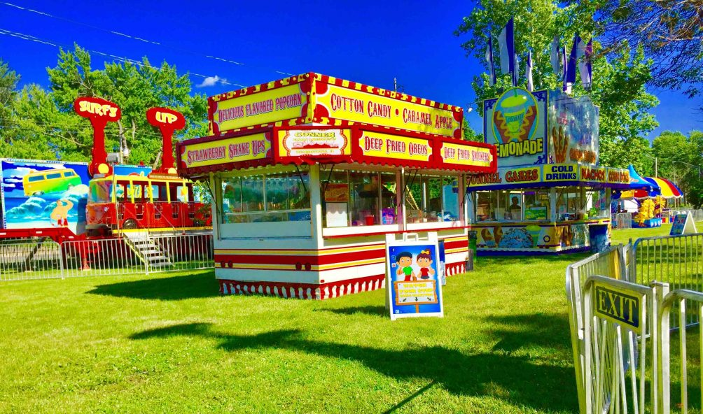 Conner Family Amusements Gets Fresh Signage for Concession Stand - Sign Making Services in Jacksonville, Illinois