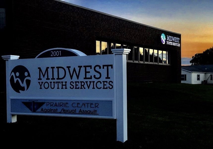 Midwest Youth Services Signage Shines as Brightly as Their Mission - Signage Services Jacksonville, Illinois