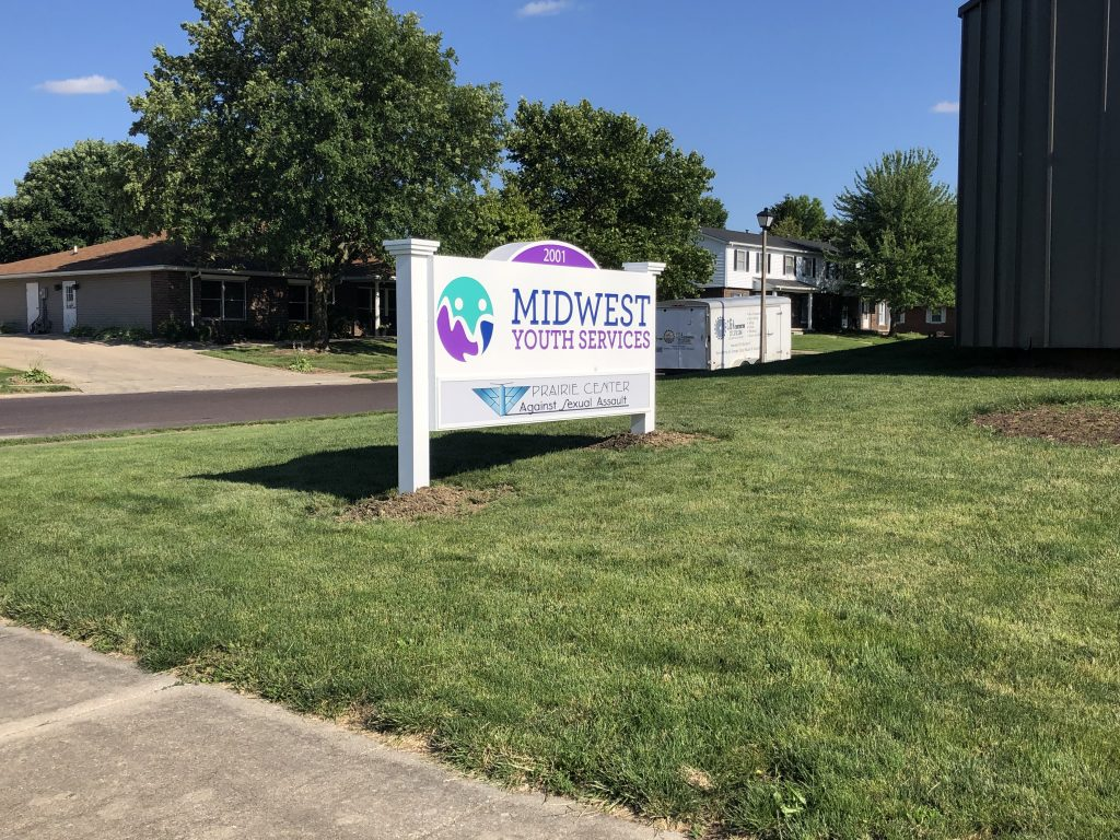 Midwest Youth Services Signage Shines as Brightly as Their Mission - Signage Services Jacksonville, Illinois 3