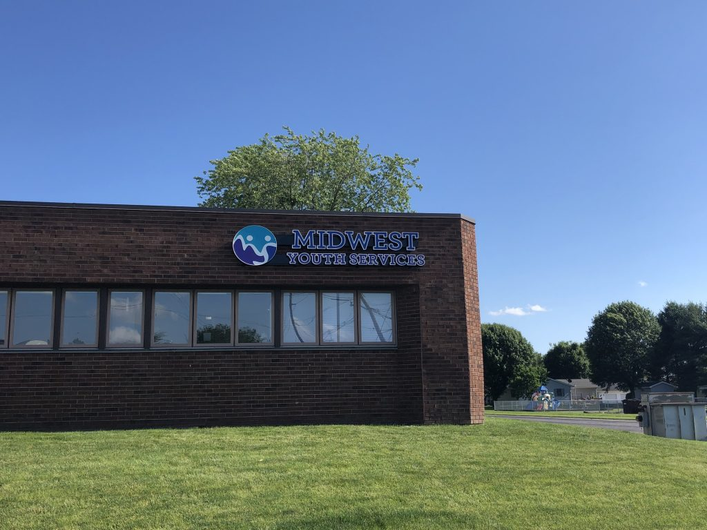 Midwest Youth Services Signage Shines as Brightly as Their Mission - Signage Services Jacksonville, Illinois 2