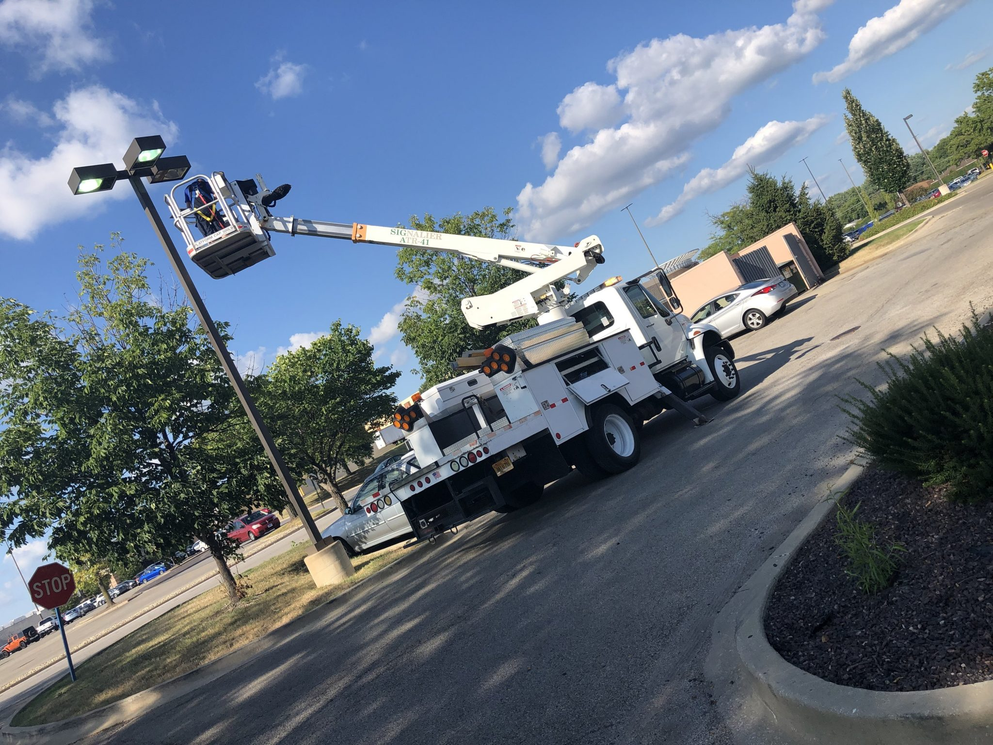We Specialize in Parking Lot Lighting Repair in the Jacksonville, Illinois Area